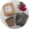 seed bombs, seeds, seed balls, seed gift, gifts that grow, seed present, flowers, make your own seed bomb, school holiday craft, kids activity