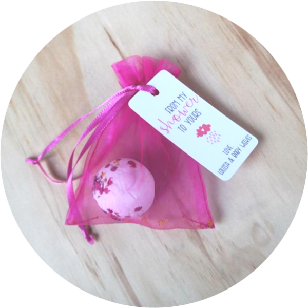 baby shower seed bomb gift favour
