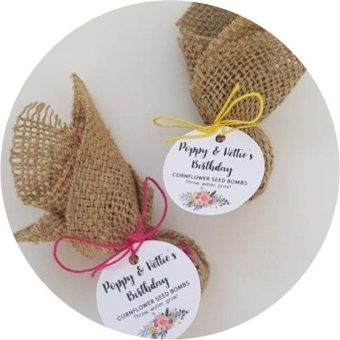 seed bomb, favours, favor, bomboniere, wedding, gift, guest, sustainable, organic, seed, plant