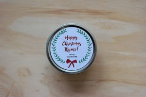 It's Christmas Thyme!